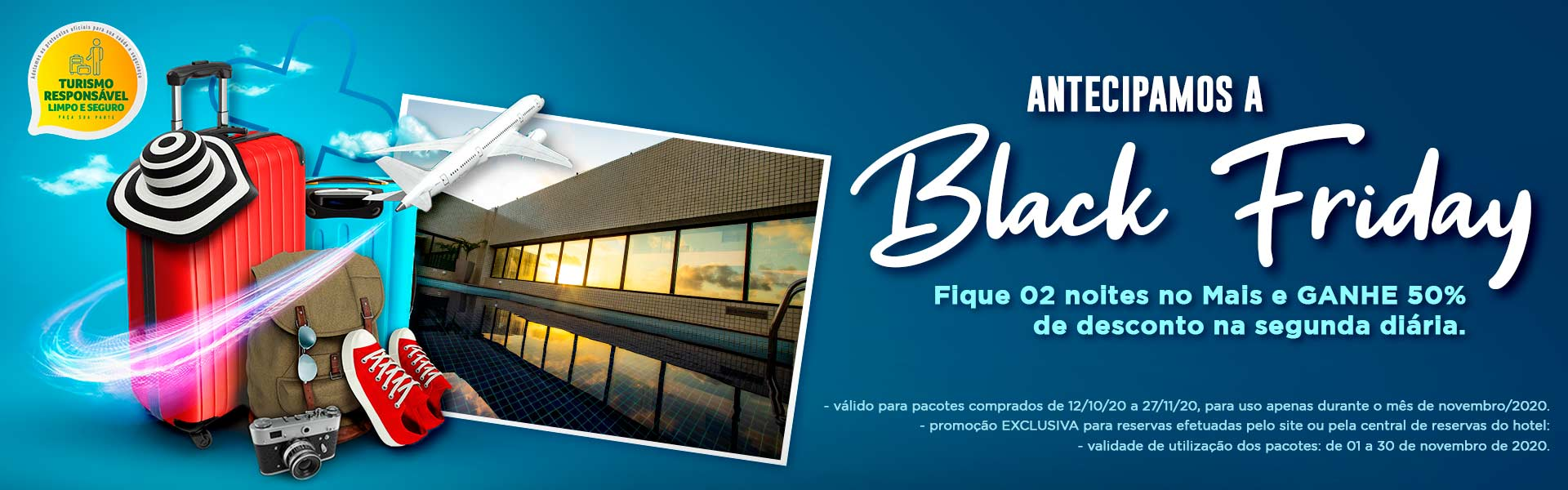 Black Friday 2020 Mais Hotel Bahia